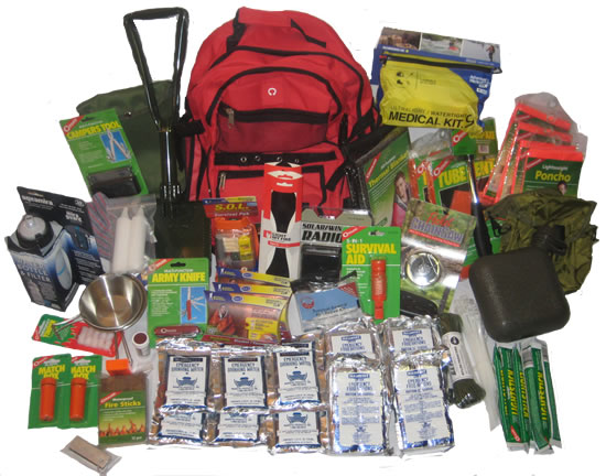 Home Emergency Kit in a Backpack