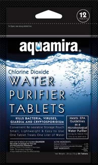 Water Purification Tablets