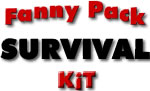 complete fanny pack survival kit