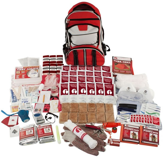 Survival Backpack Kit for Two People