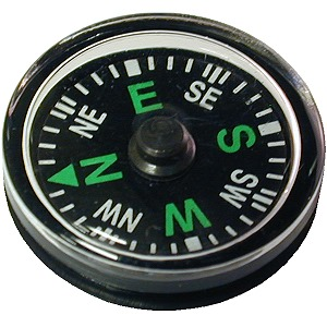 Oil Filled Button Compass