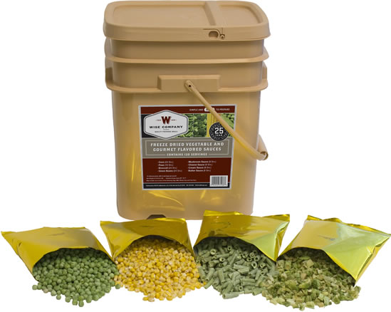 Wise Food Freeze Dried Vegetables