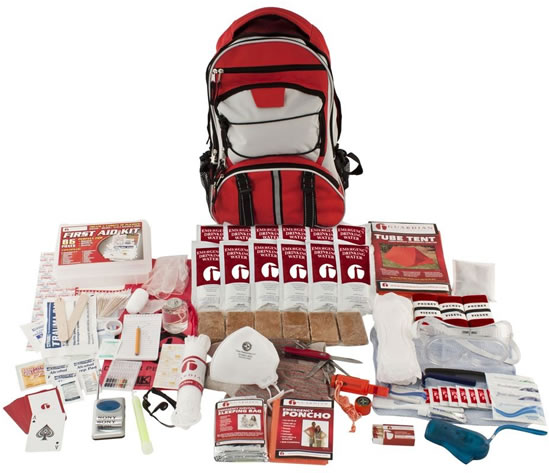 Single Person Guardian Backpack Kit