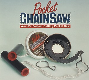 Pocket Chainsaw with Handles