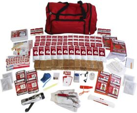 Four Person Emergency Kit in a Duffle Bag