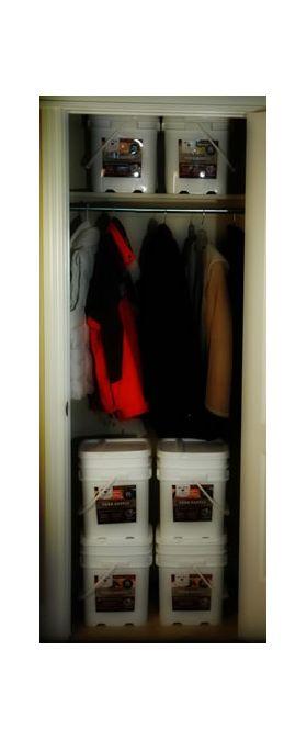 Food Storage in Closet