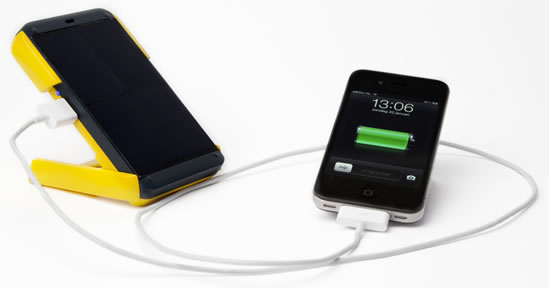 Charges tablets and smartphones!