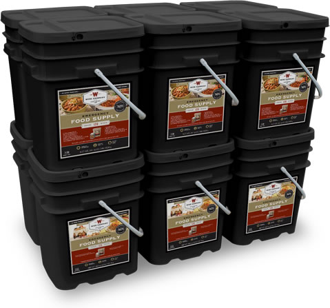 2160 Serving Food Storage Solution